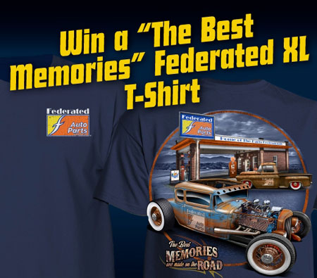 Win the Best Memories T-Shirt in Federated Contest