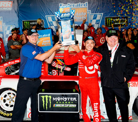 2017 Federated Auto Parts 400 Winner