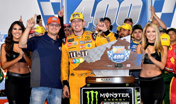 2018 Federated Auto Parts 400 Winner's Circle