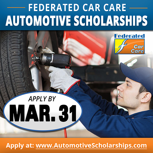 Federated Car Care Automotive Scholarships