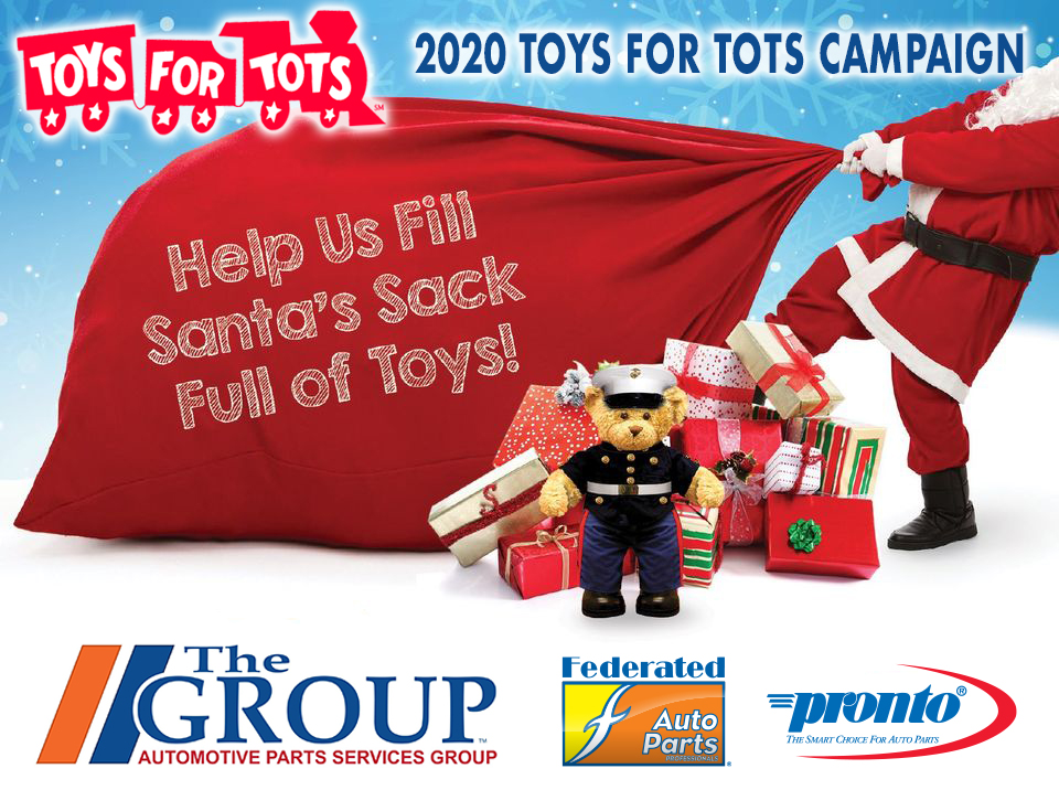 The Group 2020 Toys for Tots Campaign