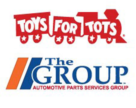 Toys for Tots Logo & The Group Logo