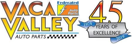Vaca Valley 45th Anniversary Logo